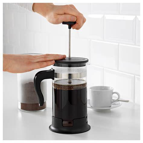 Upphetta 01 Coffeetea Maker Glass Stainless Steel upphetta coffee tea maker glass stainless steel 1 l ikea