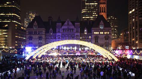 toronto house music events o christmas tree toronto lights up the season with