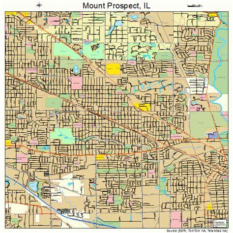 Mount Prospect mount prospect illinois map 1751089