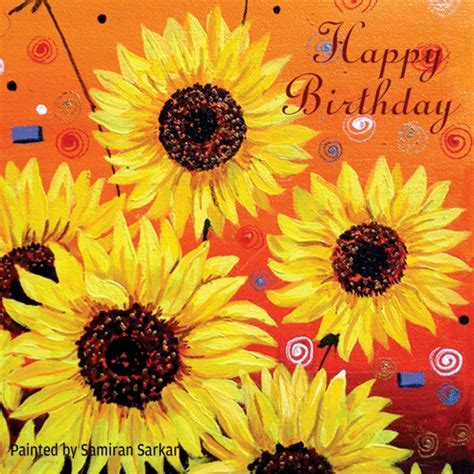 Warmest Wishes On Your Birthday! Free Flowers eCards