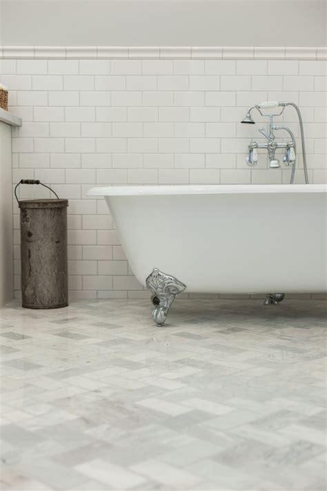 carrara marble tiles bathroom clawfoot tub on carrara marble subway tile laid on