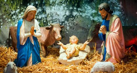 Baby Jesus Stolen From Christmas Crib Again The Local Baby Jesus In The Crib