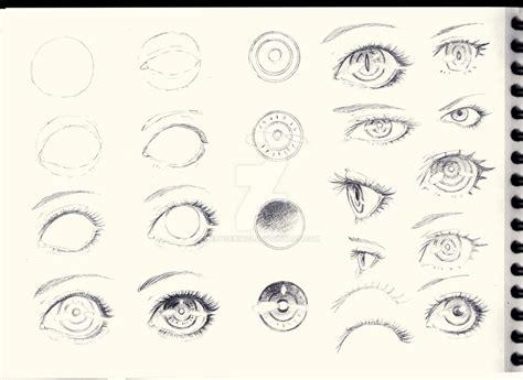 tutorial for sketchbook eyes sketch tutorial by erosenin23 on deviantart