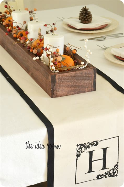Diy Table Runner by Diy Table Runner Monogrammed