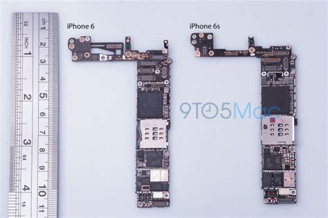 leaked iphone 6s motherboard reveals new nfc chip 16gb base storage and more