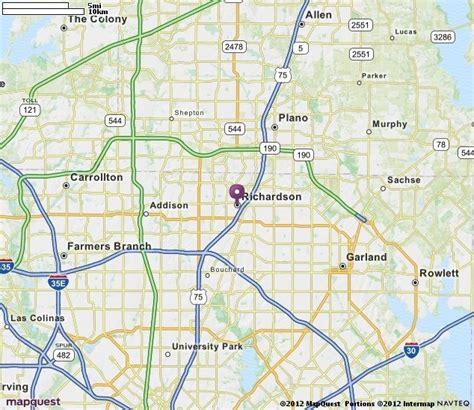 zip code map richardson tx map of richardson texas richardson location guide zip