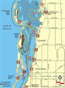map of pinellas county florida pinellas county florida planning blueways paddling