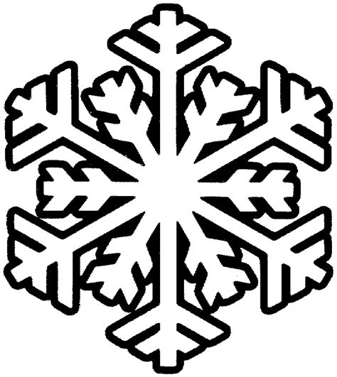 Snowflake Coloring Pages For Kids Coloring Home Snowflakes Printable Coloring Pages