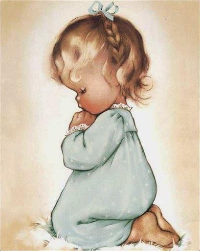imagenes de bebe orando ni 241 os rezando para imprimir