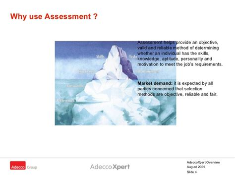 Adecco Background Check Adecco Xpert Overview Xpert Presentation