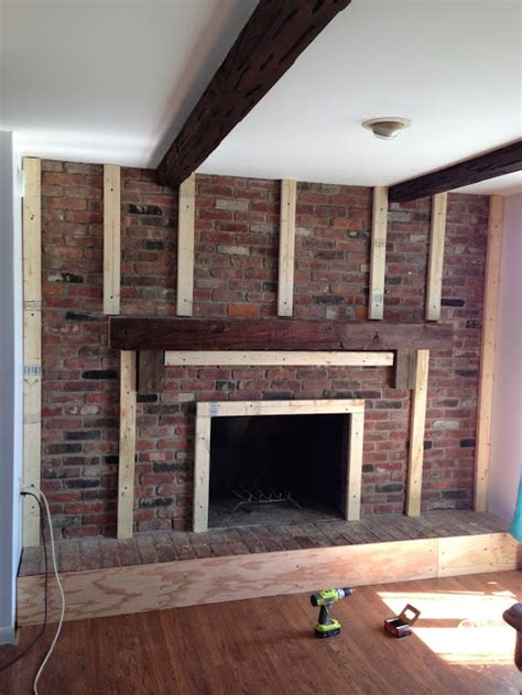 redoing brick fireplace cottage chic fireplace redo hometalk