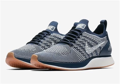 Nike Zoom Flyknit 2017 Mens Premium Qty nike zoom flyknit racer wmns navy gum 917658 400 sneakernews