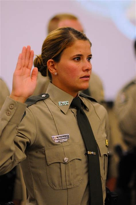 Fwc Officer in a ceremony at the florida safety institute near