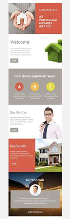real estate email newsletter templates free email newsletter templates creative template