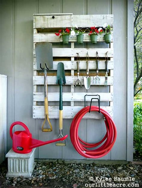 amazing solutions for your ideas 24 practical diy storage solutions for your garden and