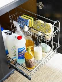 Kitchen Sink Storage Solutions Bhg Centsational Style