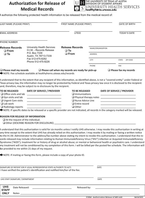 request medical records release form template archives ppyr us