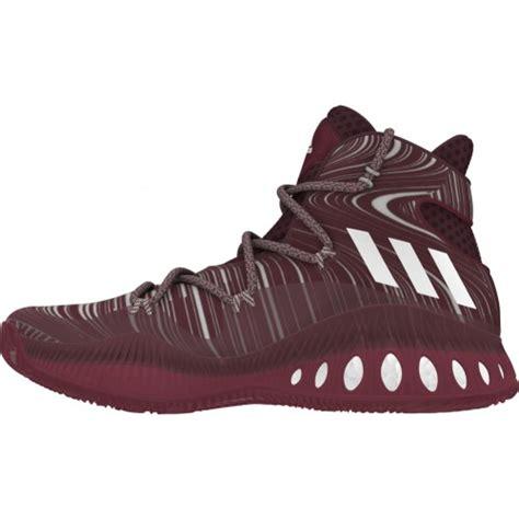 maroon adidas basketball shoes adidas explosive mens basketball shoe revup sports