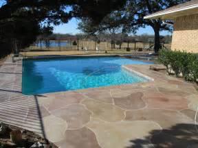 Patio Around Pool Stamped Concrete Driveway Patio Design Ideas Everything