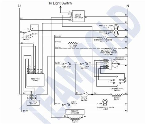 frigidaire ice maker wiring diagram  wiring diagram