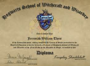 hogwarts certificate template my hogwarts diploma by joekabox on deviantart