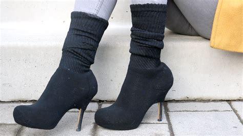 diy sock diy yeezy sock boots tutorial canada diy fashion