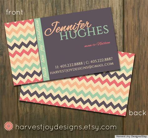 business card template etsy 10 printable business cards from etsy that are anything