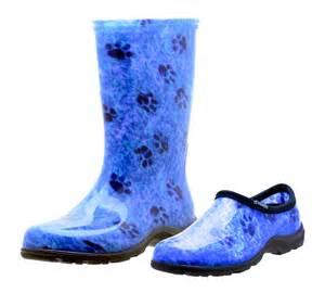 new sloggers zebra print womens snow and garden boot