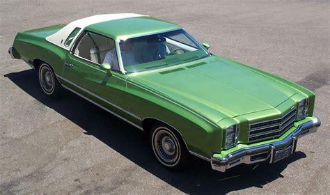 chevy green my curbside 1976 chevrolet monte carlo landau