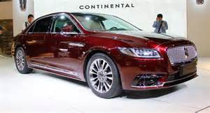 new lincoln continental makes its asian debut in china