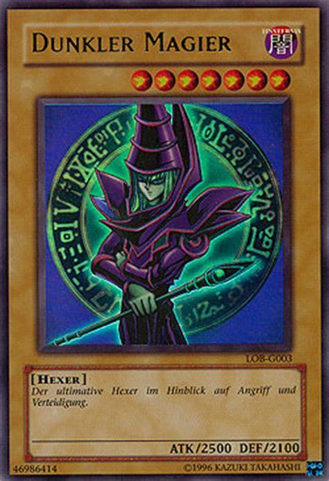 dunkler magier deck yu gi oh einzelkarten boosterserien legend of blue