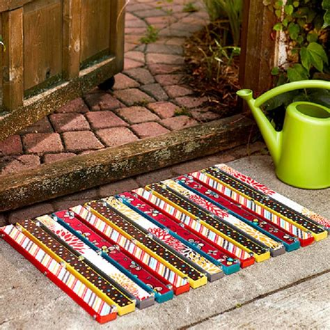 colorful doormat top 10 budget friendly diy doormats top inspired