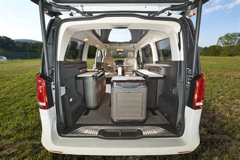 V Klasse Motorradtransport by Hymer Studie Mercedes V Klasse Cingbus Caravan Lounge