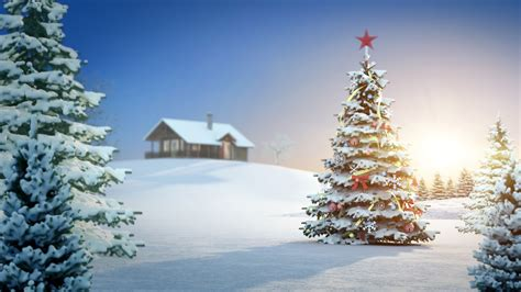 christmas tree desktop wallpaper download