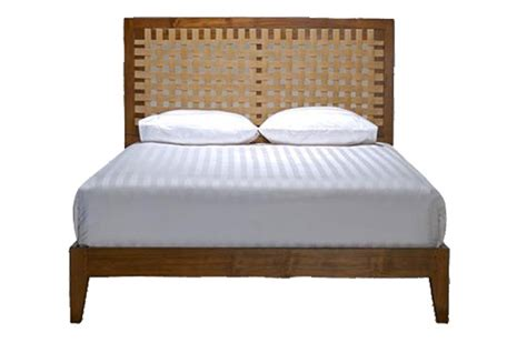 balinese bed hospitality santai bed 166x208x90cm bali furniture