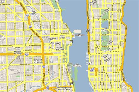 chicago financial district map which neighborhood is the quot manhattan of the south