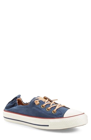 Converse Chuck All Slip Sneakers Hijau converse chuck all peached shoreline low top slip on sneaker in blue lyst
