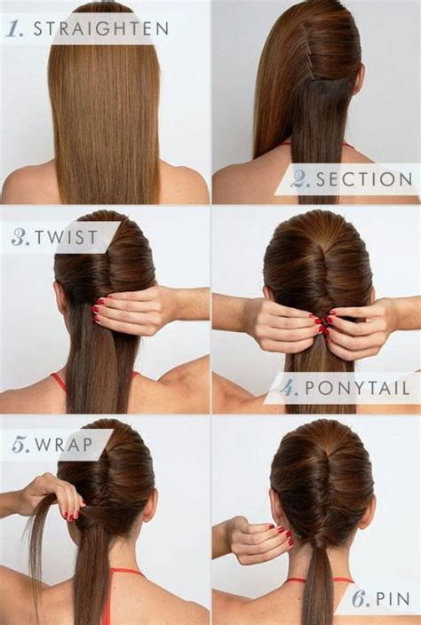 how to make different and easy hairstyles at home easy but gorgeous hairstyles for busy mornings glam radar
