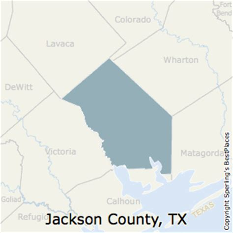 jackson county texas map best places to live in jackson county texas