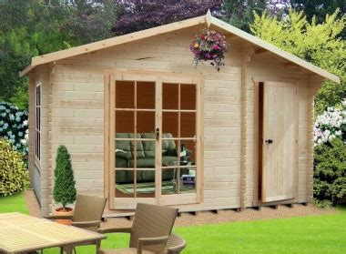 2 Room Shed by Two Room Apex Log Cabin 238 A Shed And A Summerhouse