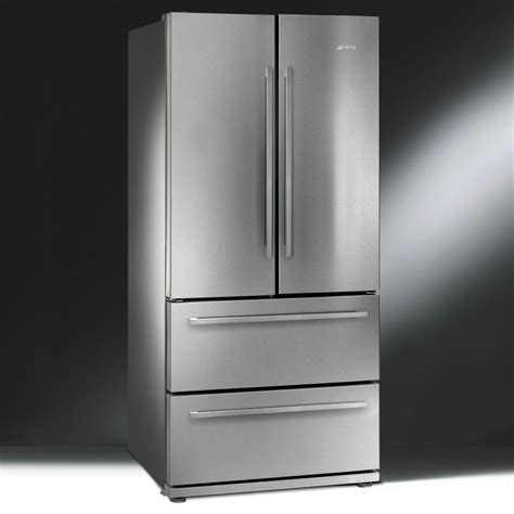 Door Fridge Freezer With Drawers by Smeg Fq55fx 84cm Two Door And Two Drawer Free Fridge