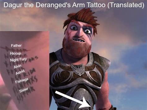 tattoo shows on netflix dagur s arm translated from race to the edge the