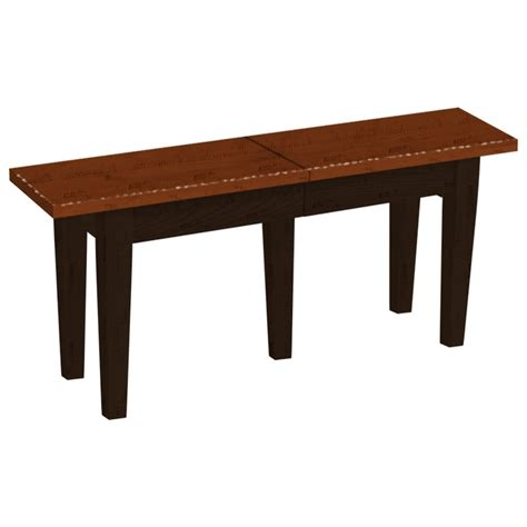 Amish Stools And Benches by Daniel S Amish Chairs And Barstools 48124t Customizable