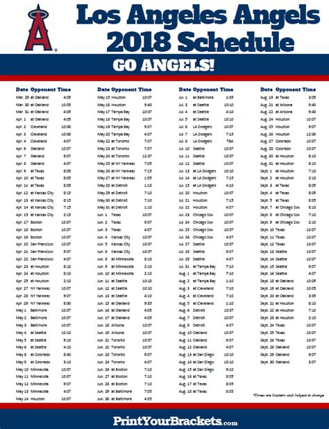 Sia Tickets Calendar May 2018 Bowl Los Angeles by Printable Los Angeles Baseball Schedule 2018