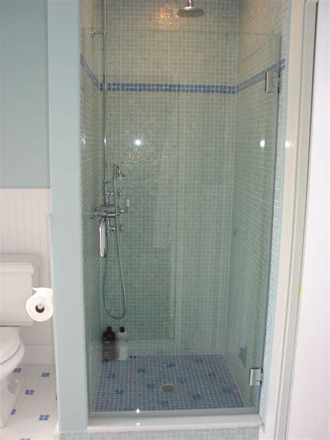 Single Shower Doors by Glass Shower Doors Bryn Mawr Glass