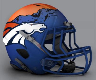Kaos Football Denver Broncos Alternate Logo 3 1997 Pres ranking the best broncos helmets past present and