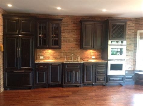 Basement Kitchen Cabinets by Basement Kitchen Traditional Basement Atlanta By