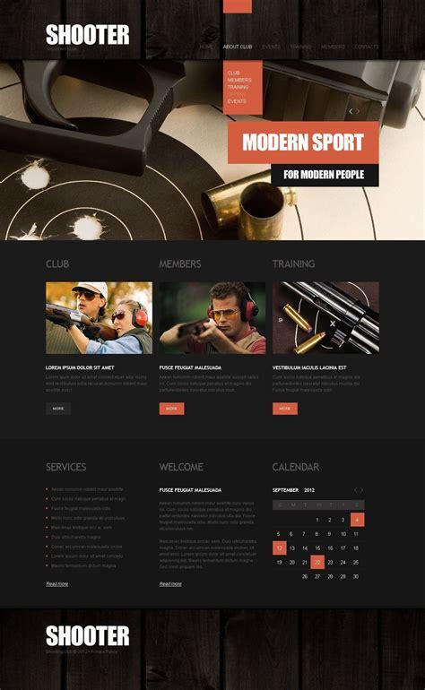 Gun Shop Website Template 39293 Gun Shop Website Template