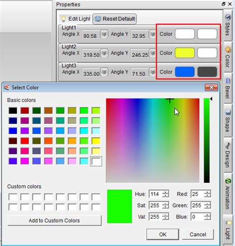 tutorial web cartoon maker how to change light settings in aurora 3d animation maker
