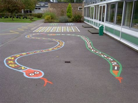 painting school playground best 25 playground painting ideas on snake